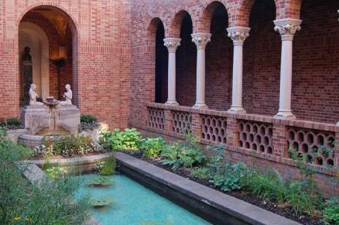 Jordan Schnitzer Museum Courtyard